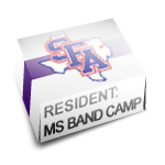 Resident: Middle School Band Camp and/or pay remaining balance